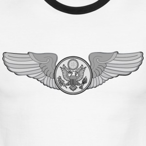 ENLISTED AIRCREW WINGS - Men's Ringer T-Shirt