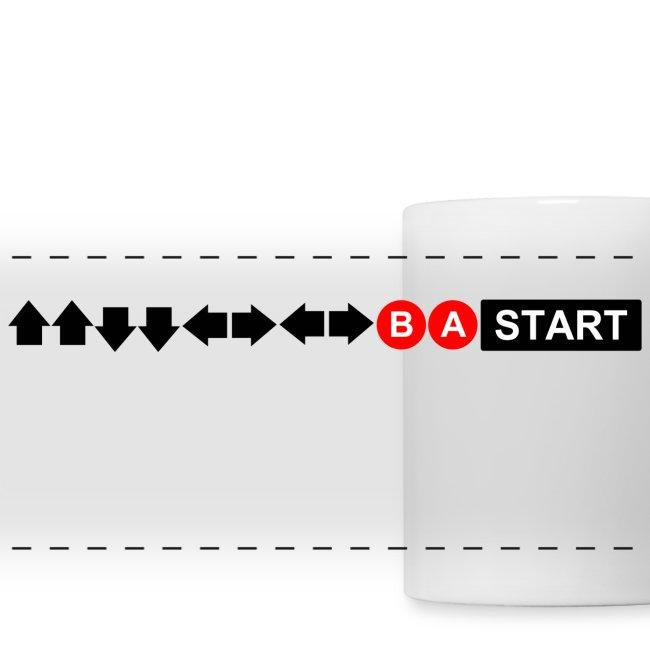 Contra Code Horizontal Design Mug