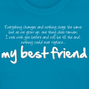 My best friend (dark) Women's T-Shirts - Women's T-Shirt