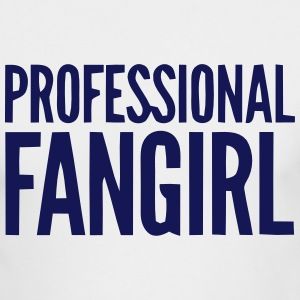 PROFESSIONAL FANGIRL Long Sleeve Shirts - Men's Long Sleeve T-Shirt by Next Level