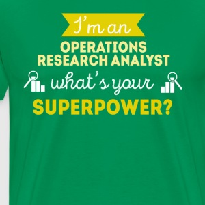 Operations Research Analyst Professions T Shirt T-Shirts - Men's Premium T-Shirt