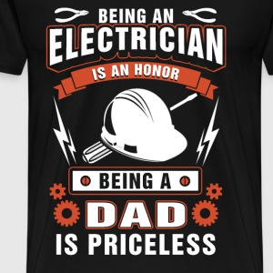 ELECTRICIAN DAD - Men's Premium T-Shirt