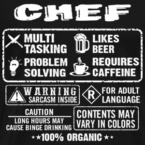 CHEF funny and humor - Men's Premium T-Shirt