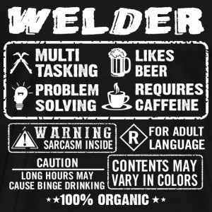 welders wife, welders girl, welder girl, welder da - Men's Premium T-Shirt