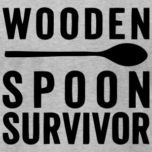 WOODEN SPOON SURVIVOR! T-Shirts - Men's T-Shirt by American Apparel