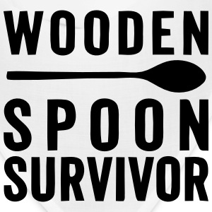 WOODEN SPOON SURVIVOR! Caps - Bandana
