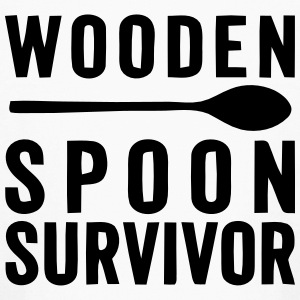 WOODEN SPOON SURVIVOR! Kids' Shirts - Kids' Long Sleeve T-Shirt