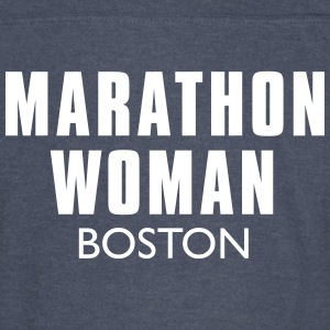 MARATHON MAN 2016 Boston - Vintage Sport T-Shirt