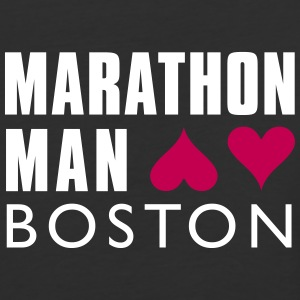 MARATHON Man Boston - Baseball T-Shirt