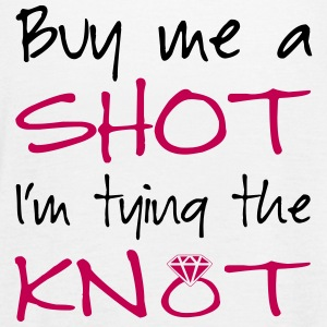 Buy me a shot, I'm tying the knot! - Women's Flowy Tank Top by Bella