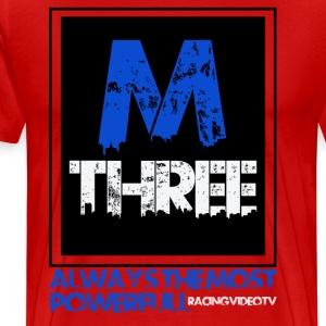 M Three Man T-shirt - Men's Premium T-Shirt