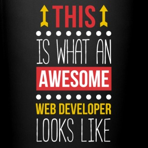 Awesome Web Developer Professions T Shirt Mugs & Drinkware - Full Color Mug