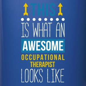 Awesome Occupational Therapist Professions T Shirt Mugs & Drinkware - Full Color Mug