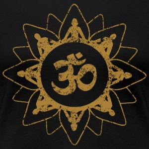 Yoga OM - Women's Premium T-Shirt
