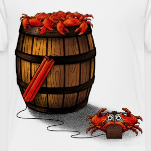 Crabs in a Barrel  - Toddler Premium T-Shirt