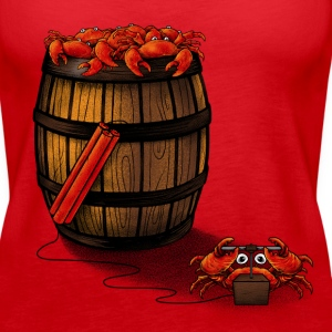 Crabs in a Barrel  - Women's Premium Tank Top