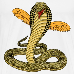 cobra with wings - Men's Premium T-Shirt