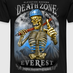 DEATH ZONE: EVEREST - Men's Premium T-Shirt