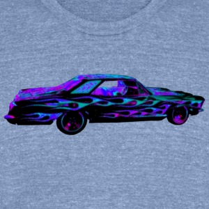 63 RIVIERA NIGHT GLITTER T-Shirts - Unisex Tri-Blend T-Shirt by American Apparel