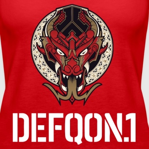 Defqon.1 Dragonbloon 2016 Tanks - Women's Premium Tank Top