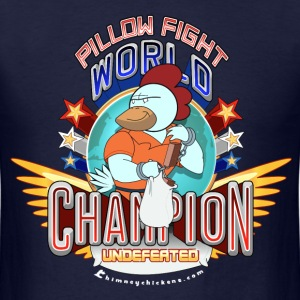 Pillow Fight World Champion - Men's T-Shirt