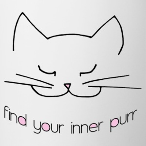 Find Your Inner Purr Mug Pink - Contrast Coffee Mug