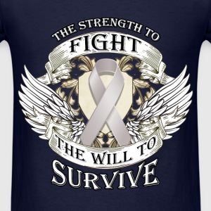 Fight Cancer - strength to fight - Men's T-Shirt