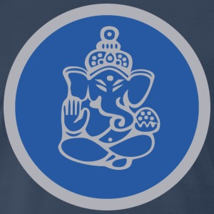 Yoga Lord Ganesha - Men's Premium T-Shirt