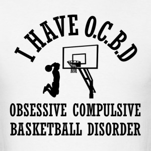 Funny Basketball OCBD - Men's T-Shirt