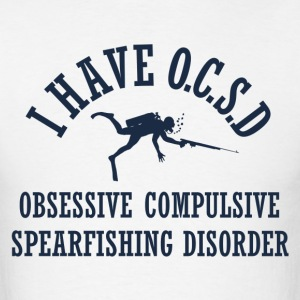 Funny Spearfishing OCSD - Men's T-Shirt