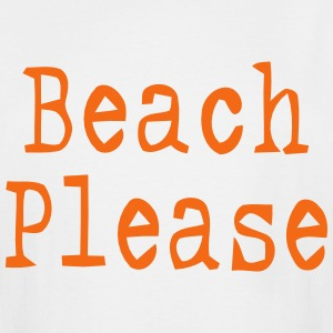 BEACH PLEASE T-Shirts - Men's Tall T-Shirt