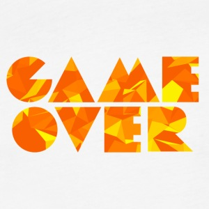 Game Over (Low Poly) T-Shirts - Fitted Cotton/Poly T-Shirt by Next Level