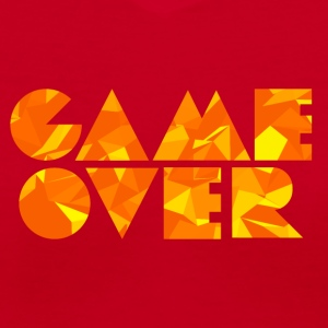 Game Over (Low Poly) Women's T-Shirts - Women's V-Neck T-Shirt