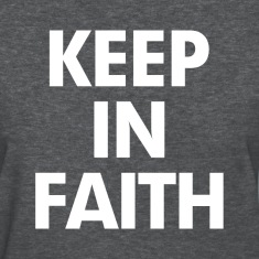 Keep In Faith Women's T-Shirts