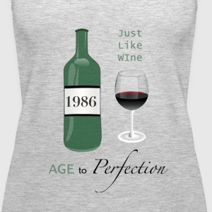 Just like wine 1986 30th Birthday - Women's Premium Tank Top
