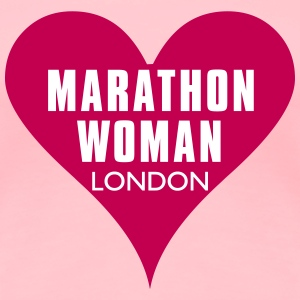 MARTHON HEART London  - Women's Premium T-Shirt