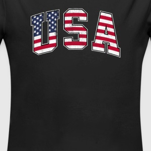 USA - Long Sleeve Baby Bodysuit