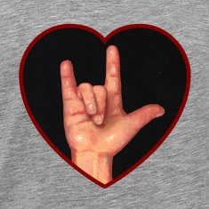 I Love You, Hand in Heart, American Sign Language