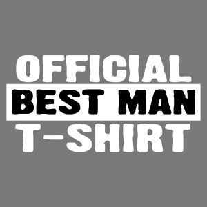 Official Best Man Shirt