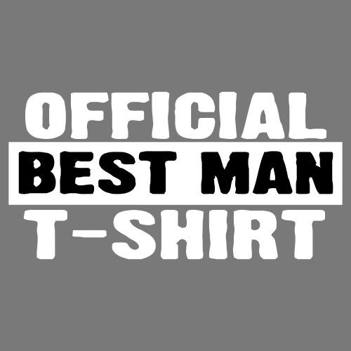 Official Best Man Shirt