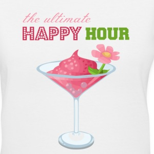 The Ultimate Happy Hour - Women's V-Neck T-Shirt