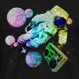 Boombox Spaceman Astronaut - Men's Premium T-Shirt