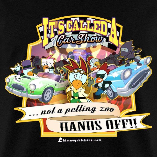 The Chimney Chickens Shop Car Show Mens Tee Mens TShirt - Car show t shirts
