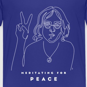 Meditating for Peace II - Toddler Premium T-Shirt