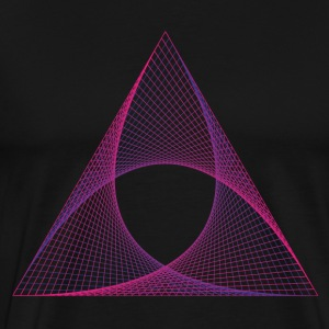 Triangle Abstract - Men's Premium T-Shirt