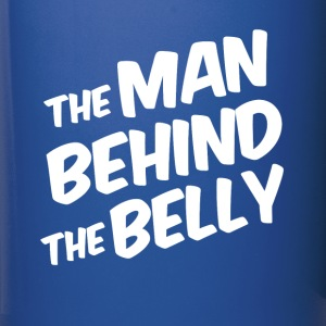 The Man Behind the Belly funny dad to be - Full Color Mug