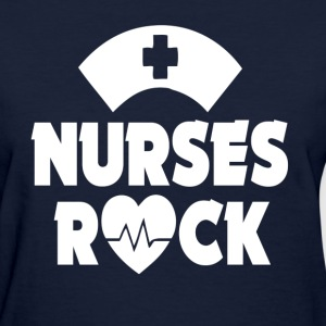 Nurses Rock funny shirt - Women's T-Shirt