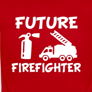 Future Fire fighter baby shirt - Short Sleeve Baby Bodysuit