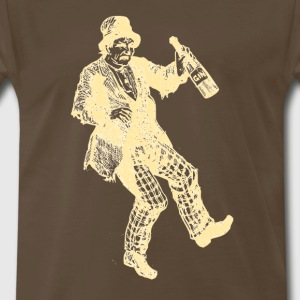 Drunken Old Man - Men's Premium T-Shirt