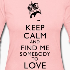 Freddie Keep Calm Long Sleeve Shirts